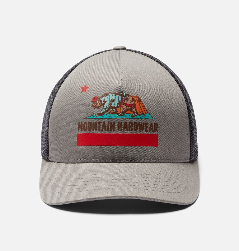 Hardwear Bear Flag™ Trucker Hat | 073 | O/S Hardwear Bear Flag™ Trucker Hat, Manta Grey, a6