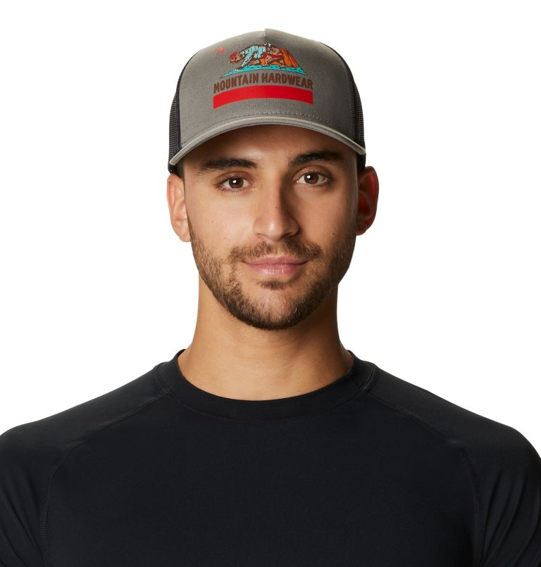 Hardwear Bear Flag™ Trucker Hat | 073 | O/S Hardwear Bear Flag™ Trucker Hat, Manta Grey, front