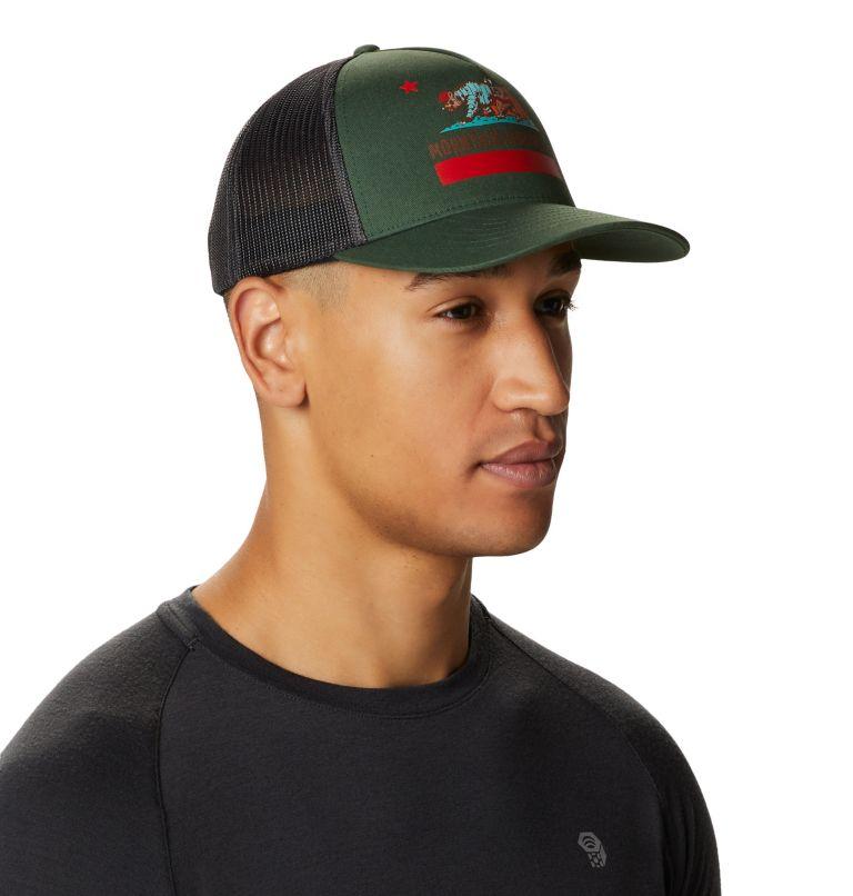 Hardwear Bear Flag™ Trucker Hat   352   O/S Hardwear Bear Flag™ Trucker Hat, Black Spruce, a1