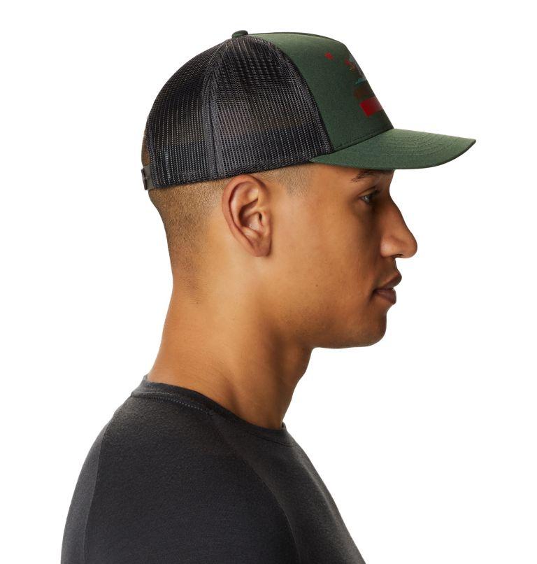 Hardwear Bear Flag™ Trucker Hat   352   O/S Hardwear Bear Flag™ Trucker Hat, Black Spruce, a2