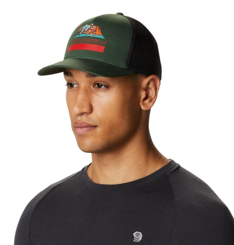 Hardwear Bear Flag™ Trucker Hat   352   O/S Hardwear Bear Flag™ Trucker Hat, Black Spruce, a3