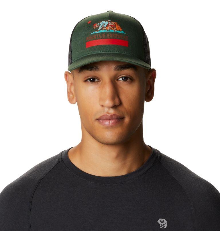 Hardwear Bear Flag™ Trucker Hat   352   O/S Hardwear Bear Flag™ Trucker Hat, Black Spruce, front