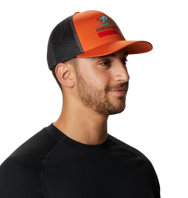 Hardwear Bear Flag™ Trucker Hat   840   O/S Hardwear Bear Flag™ Trucker Hat, Dark Clay, a1