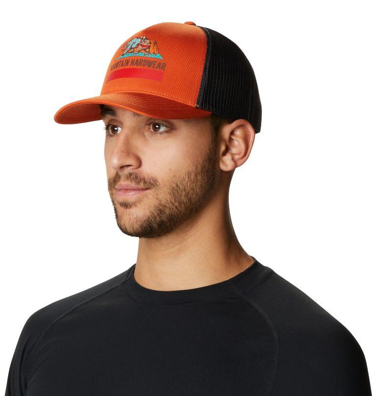 Hardwear Bear Flag™ Trucker Hat   840   O/S Hardwear Bear Flag™ Trucker Hat, Dark Clay, a2