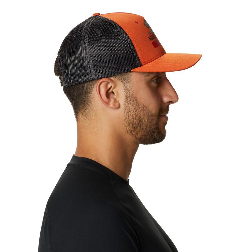 Hardwear Bear Flag™ Trucker Hat   840   O/S Hardwear Bear Flag™ Trucker Hat, Dark Clay, a3