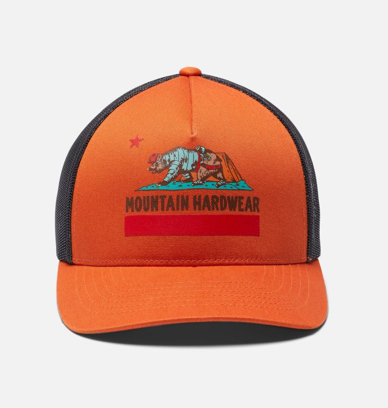 Hardwear Bear Flag™ Trucker Hat | 840 | O/S Hardwear Bear Flag™ Trucker Hat, Dark Clay, a6