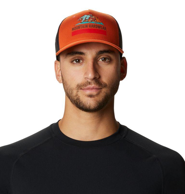 Hardwear Bear Flag™ Trucker Hat   840   O/S Hardwear Bear Flag™ Trucker Hat, Dark Clay, front