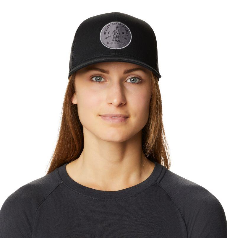 Secret Stash Pt.3™ Trucker Hat   004   O/S Secret Stash Pt.3™ Unisex Trucker Hat, Dark Storm, front