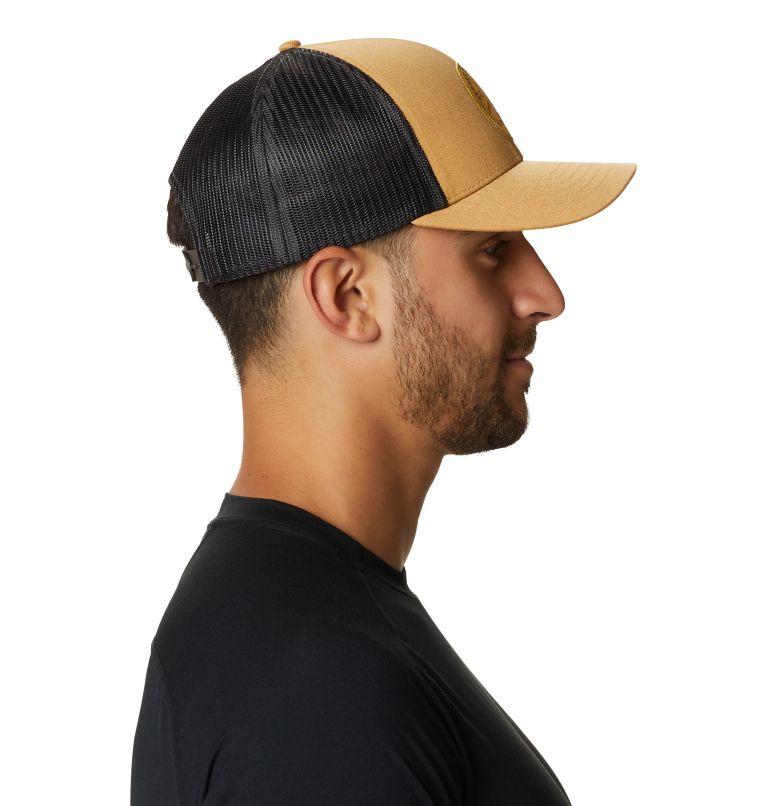 Secret Stash Pt.3™ Trucker Hat   255   O/S Secret Stash Pt.3™ Unisex Trucker Hat, Olive Gold, a2