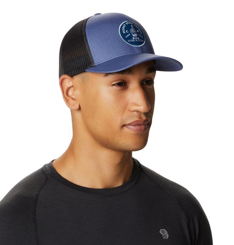 Secret Stash Pt.3™ Trucker Hat   445   O/S Secret Stash Pt.3™ Unisex Trucker Hat, Northern Blue, a1