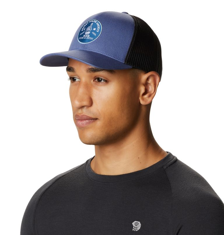Secret Stash Pt.3™ Trucker Hat   445   O/S Secret Stash Pt.3™ Unisex Trucker Hat, Northern Blue, a3