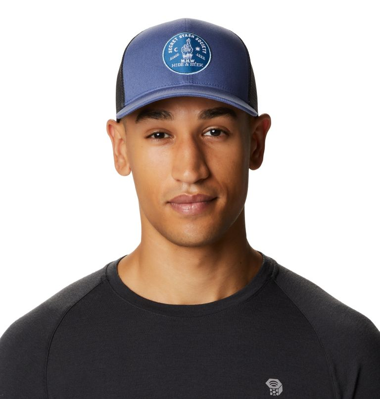 Secret Stash Pt.3™ Trucker Hat   445   O/S Secret Stash Pt.3™ Unisex Trucker Hat, Northern Blue, front