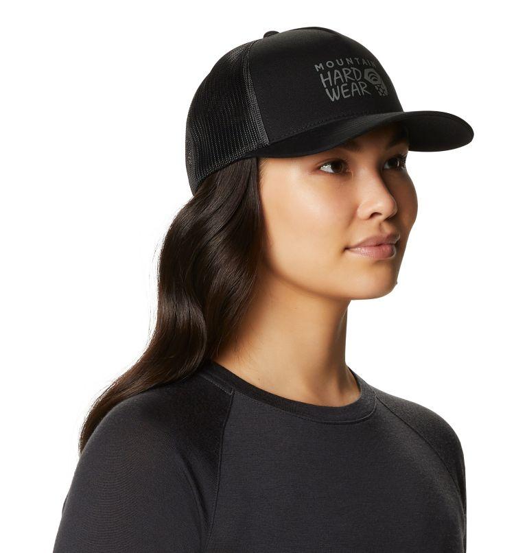 MHW Logo™ Trucker Hat | 010 | O/S Women's MHW Logo™ Trucker Hat, Black, a1