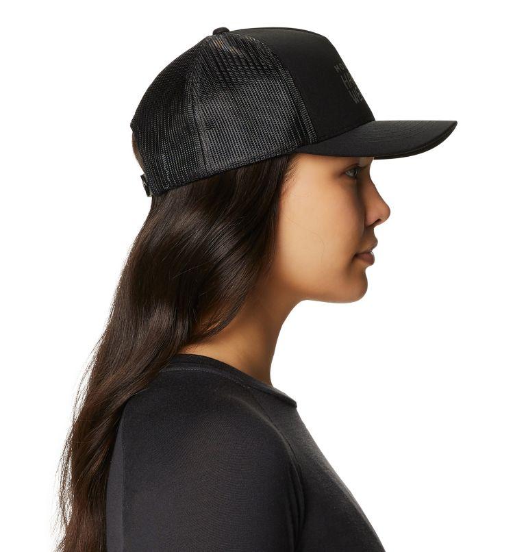 MHW Logo™ Trucker Hat | 010 | O/S Women's MHW Logo™ Trucker Hat, Black, a2
