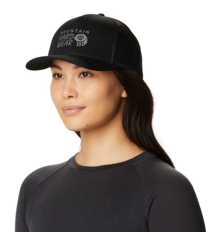 MHW Logo™ Trucker Hat | 010 | O/S Women's MHW Logo™ Trucker Hat, Black, a3