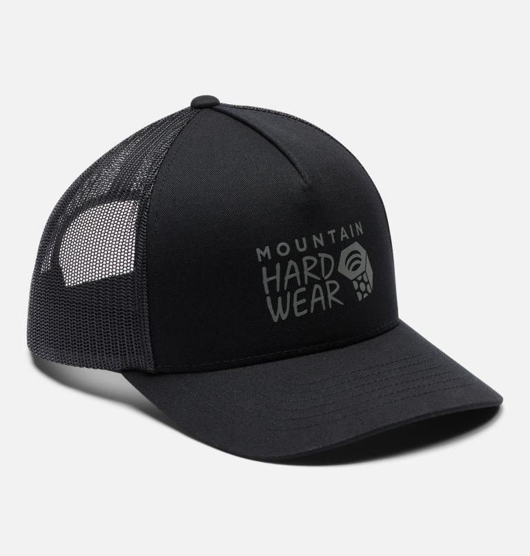 MHW Logo™ Trucker Hat | 010 | O/S Women's MHW Logo™ Trucker Hat, Black, a4