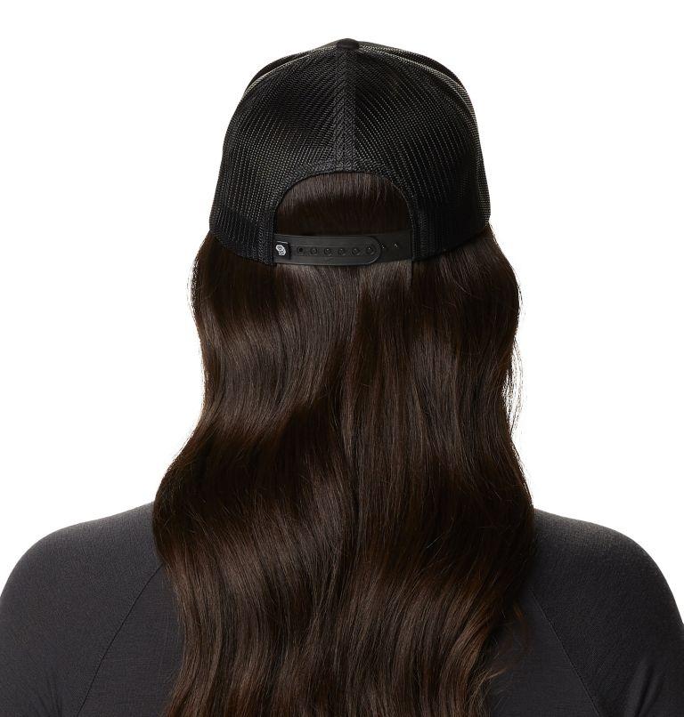MHW Logo™ Trucker Hat | 010 | O/S Women's MHW Logo™ Trucker Hat, Black, back