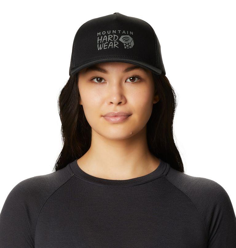 MHW Logo™ Trucker Hat | 010 | O/S Women's MHW Logo™ Trucker Hat, Black, front