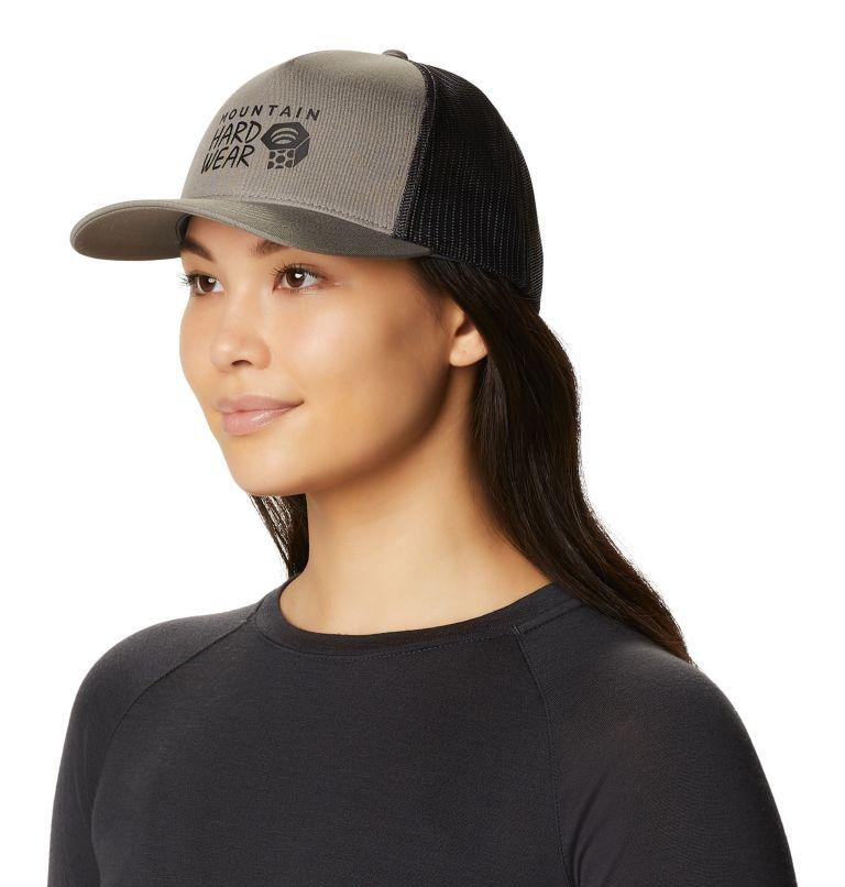MHW Logo™ Trucker Hat | 073 | O/S Women's MHW Logo™ Trucker Hat, Manta Grey, a3