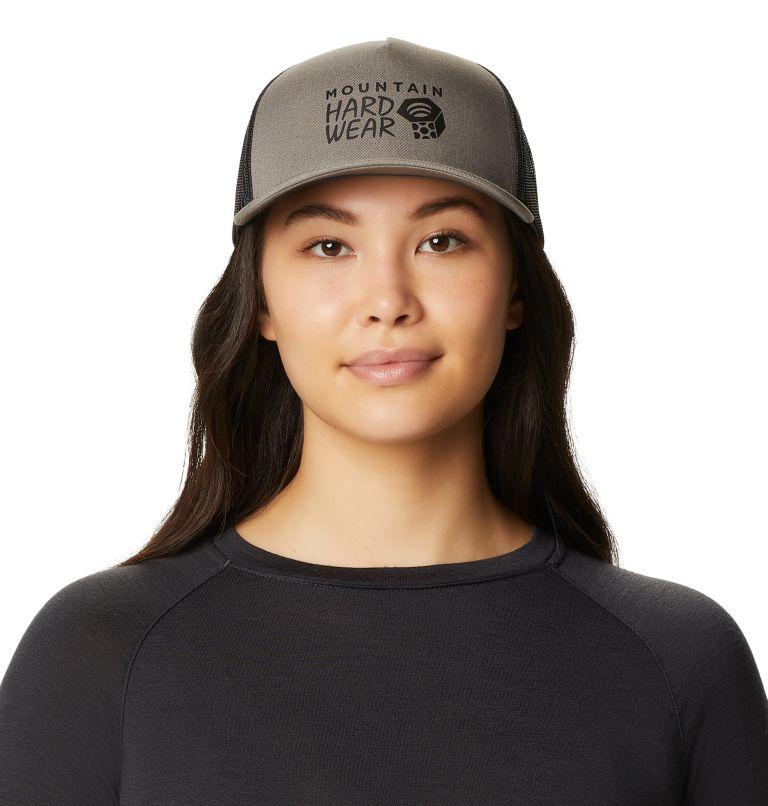MHW Logo™ Trucker Hat   073   O/S Women's MHW Logo™ Trucker Hat, Manta Grey, front