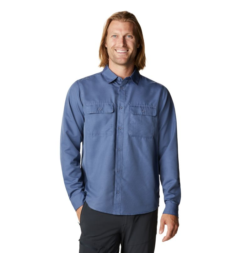 Mod Canyon™ Long Sleeve Shirt | 445 | S Men's Mod Canyon™ Long Sleeve Shirt, Northern Blue, front