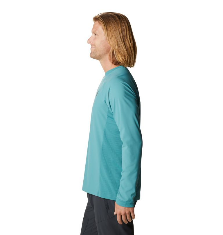 Shade Lite™ LS Crew | 447 | XXL Men's Shade Lite™ Long Sleeve Crew, Washed Turq, a1