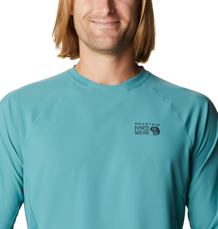 Shade Lite™ LS Crew | 447 | XXL Men's Shade Lite™ Long Sleeve Crew, Washed Turq, a2