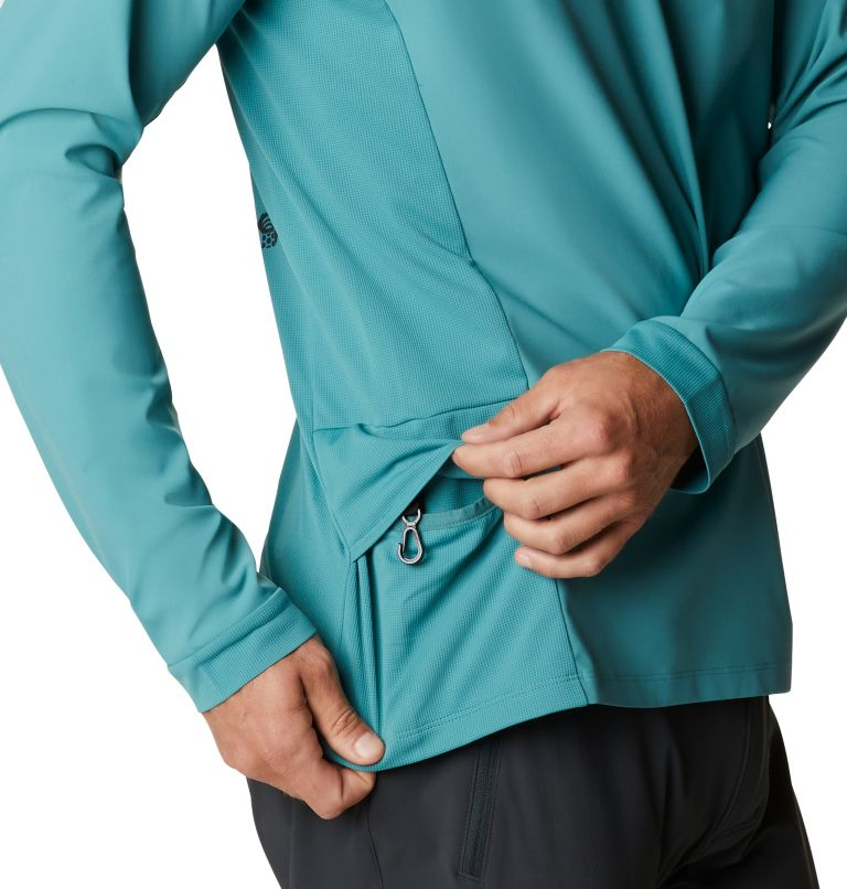 Shade Lite™ LS Crew | 447 | XXL Men's Shade Lite™ Long Sleeve Crew, Washed Turq, a3