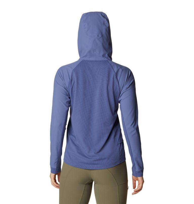 Shade Lite™ Long Sleeve Hoody | 445 | L Women's Shade Lite™ Long Sleeve Hoody, Northern Blue, back