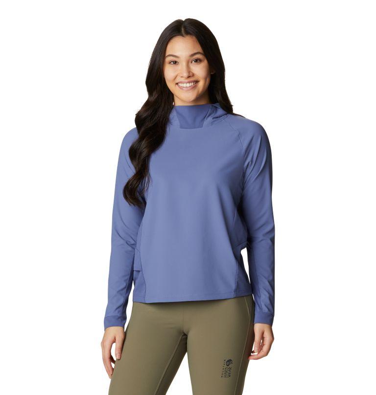 Shade Lite™ Long Sleeve Hoody | 445 | L Women's Shade Lite™ Long Sleeve Hoody, Northern Blue, front