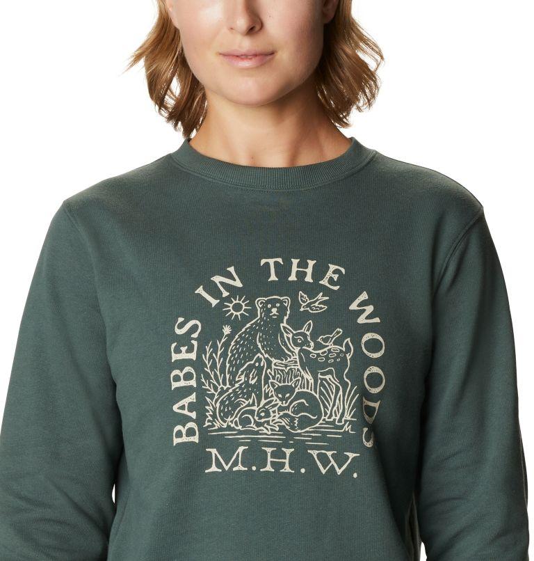 Women's Babes in the Woods™ Crew Sweatshirt Women's Babes in the Woods™ Crew Sweatshirt, a2