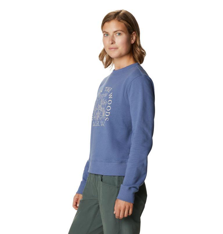 Babes in the Woods™ Crew Sweatshirt | 445 | S Women's Babes in the Woods™ Crew Sweatshirt, Northern Blue, a1