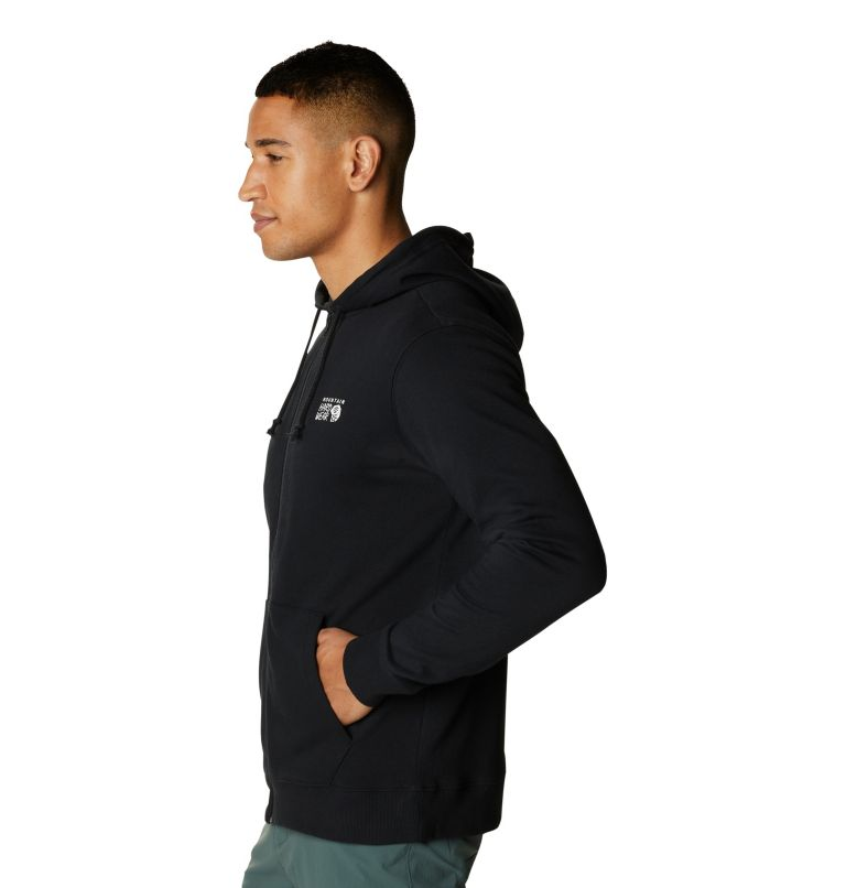 MHW Logo™ Full Zip Hoody | 010 | XXL Men's MHW Logo™ Full Zip Hoody, Black, a1