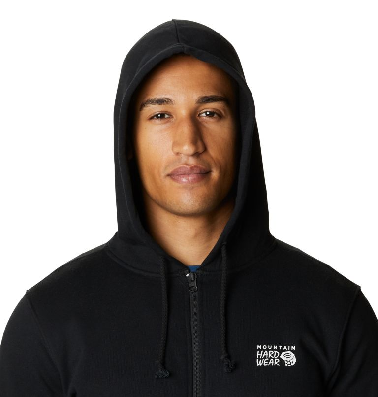 MHW Logo™ Full Zip Hoody | 010 | XXL Men's MHW Logo™ Full Zip Hoody, Black, a2