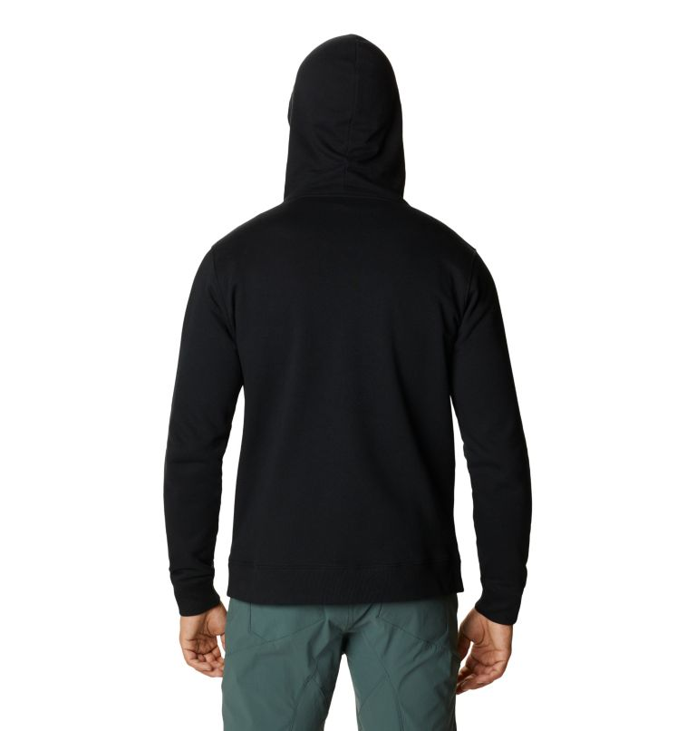 MHW Logo™ Full Zip Hoody | 010 | XXL Men's MHW Logo™ Full Zip Hoody, Black, back