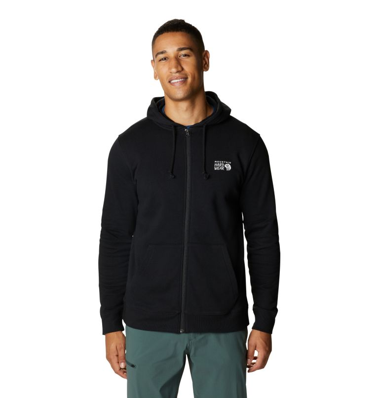 MHW Logo™ Full Zip Hoody | 010 | XXL Men's MHW Logo™ Full Zip Hoody, Black, front