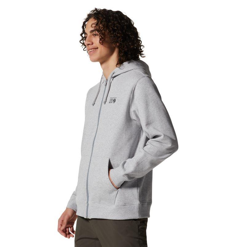 MHW Logo™ Full Zip Hoody | 057 | XL Men's MHW Logo™ Full Zip Hoody, Hardwear Grey Heather, a1