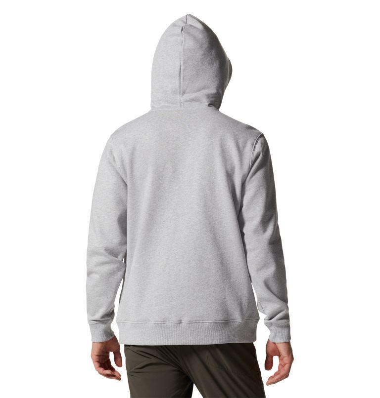 MHW Logo™ Full Zip Hoody | 057 | XL Men's MHW Logo™ Full Zip Hoody, Hardwear Grey Heather, back