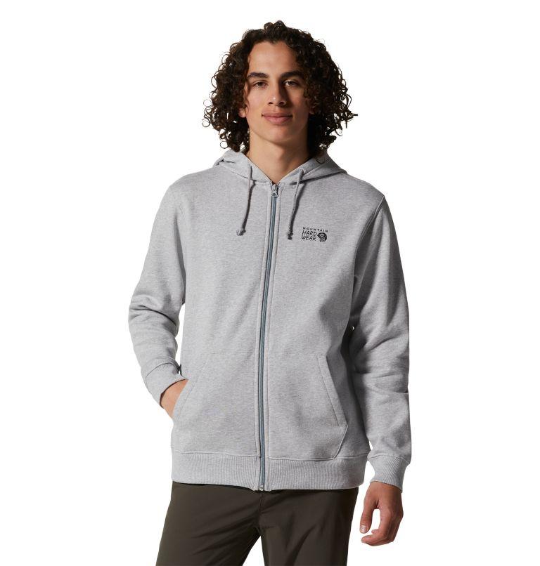 MHW Logo™ Full Zip Hoody | 057 | XL Men's MHW Logo™ Full Zip Hoody, Hardwear Grey Heather, front