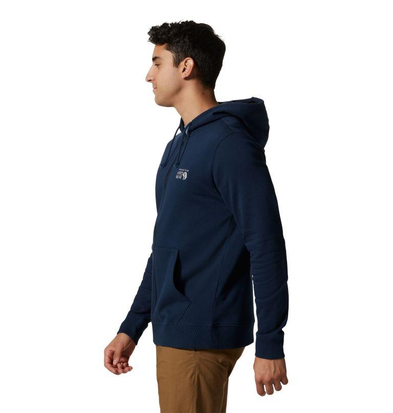 MHW Logo™ Full Zip Hoody | 425 | S Men's MHW Logo™ Full Zip Hoody, Hardwear Navy, a1