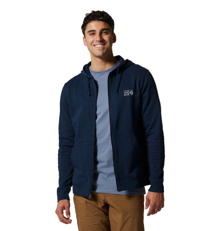 MHW Logo™ Full Zip Hoody | 425 | S Men's MHW Logo™ Full Zip Hoody, Hardwear Navy, front