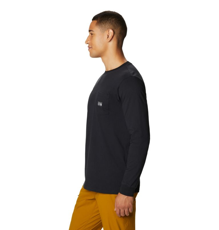 MHW Logo™ Label Long Sleeve Pocket T | 010 | XL Men's MHW Logo™ Label Long Sleeve Pocket T-Shirt, Black, a1