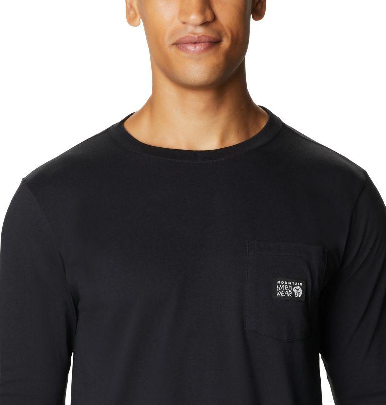 MHW Logo™ Label Long Sleeve Pocket T | 010 | XL Men's MHW Logo™ Label Long Sleeve Pocket T-Shirt, Black, a2