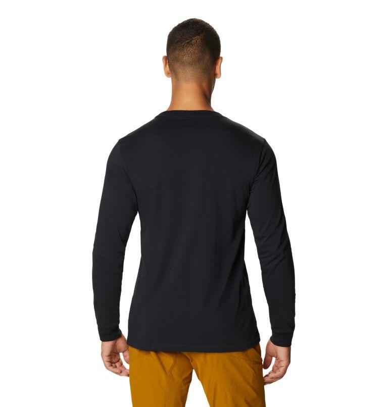 MHW Logo™ Label Long Sleeve Pocket T | 010 | XL Men's MHW Logo™ Label Long Sleeve Pocket T-Shirt, Black, back