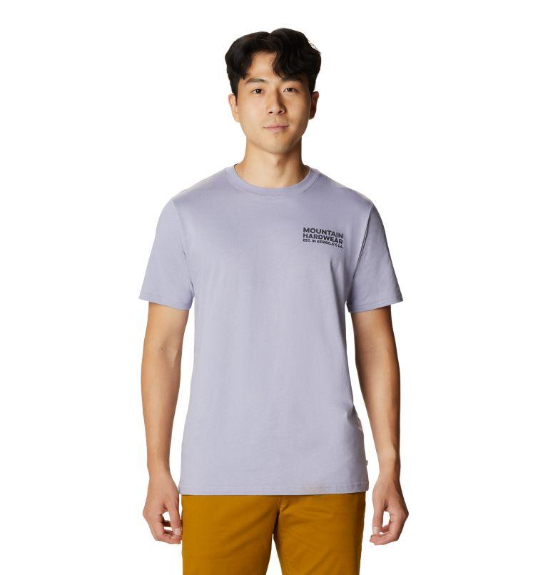 Climbing Gear™ Short Sleeve T | 558 | S Men's Climbing Gear™ Short Sleeve T-Shirt, Frost Grey, front