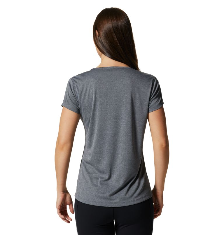 Wicked Tech™ Short Sleeve T | 054 | L Women's Wicked Tech™ Short Sleeve T-Shirt, Heather Graphite, back