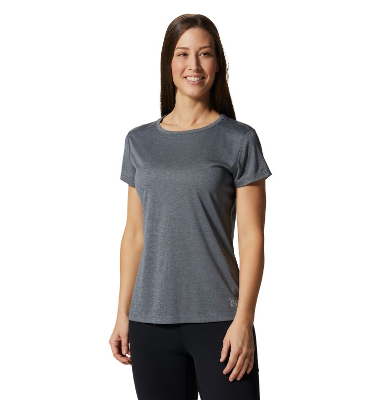 Wicked Tech™ Short Sleeve T | 054 | L Women's Wicked Tech™ Short Sleeve T-Shirt, Heather Graphite, front