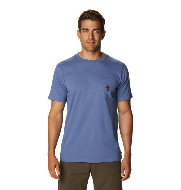 Absolute Zero™ Short Sleeve Pocket T | 445 | S Men's Absolute Zero™ Short Sleeve Pocket T-Shirt, Northern Blue, front