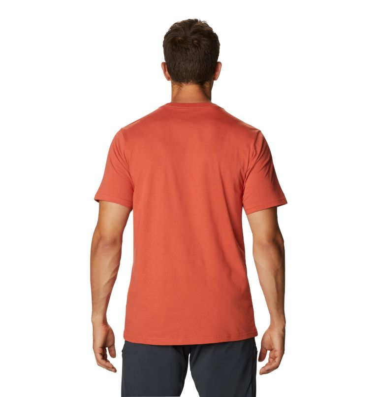 Mad Props™ Short Sleeve T   840   S Men's Mad Props™ Short Sleeve T-Shirt, Dark Clay, back