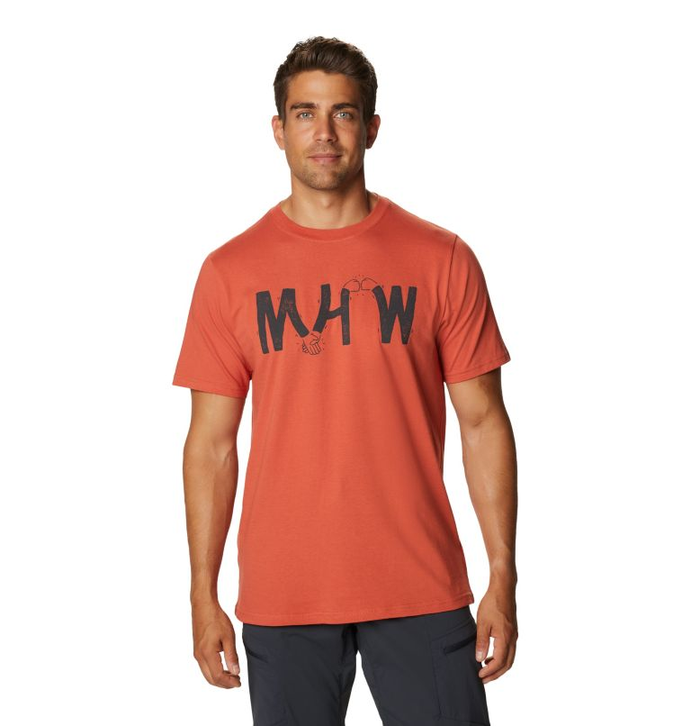 Mad Props™ Short Sleeve T   840   S Men's Mad Props™ Short Sleeve T-Shirt, Dark Clay, front